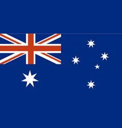 Flag australia vector