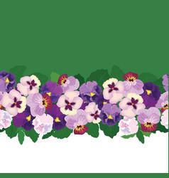 Floral seamless pattern flower background bloom vector