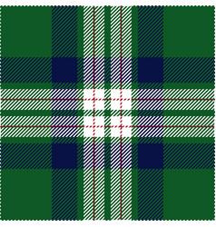 green and blue tartan plaid seamless pattern vector image