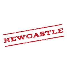 Newcastle Watermark Stamp vector