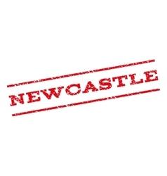 Newcastle Watermark Stamp vector
