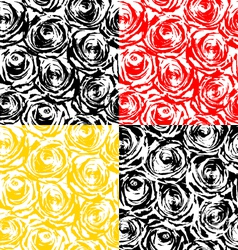 Texture of roses vector image