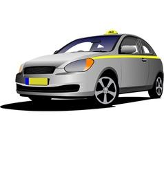 al 0248 taxi vector image vector image