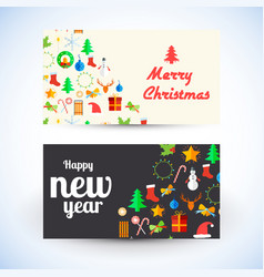 celebrating greeting cards template vector image