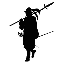 Conquistador marching Warriors Theme vector image