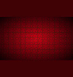 abstract red puzzle widescreen background vector image