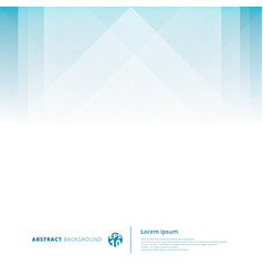 abstract technology geometric overlap light blue vector image