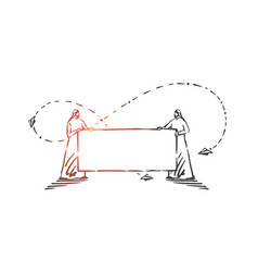 demonstration announcement advertisement concept vector image