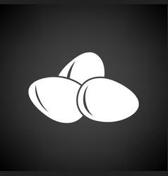 eggs icon vector image