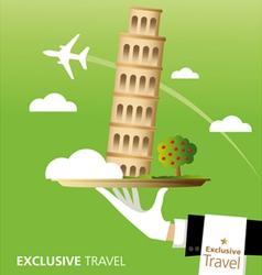Exclusive Pisa vector