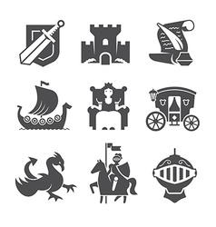 Medieval Symbols Collection vector