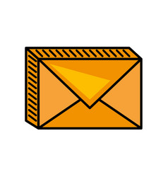 Message mail envelope image vector