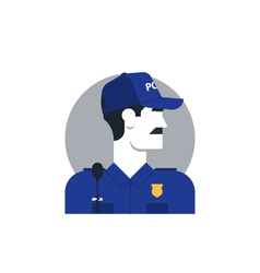 People policeman 3 vector