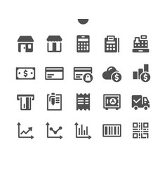 Shopping v1 ui pixel perfect well-crafted icons vector