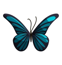 Small butterfly icon cartoon style vector image