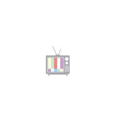 television logo icon vector image