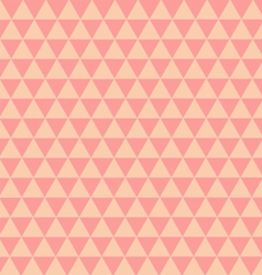 Triangles pastel Pattern vector image