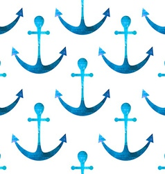 anchor seamless background Retro pattern of vector image