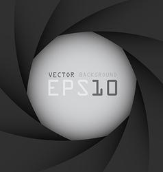Black camera shutter background eps10 vector