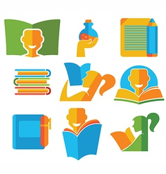 education collection vector image
