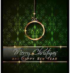 2016 New Year and Happy Christmas background vector image vector image
