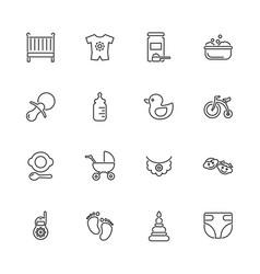 Ba- flat icons vector