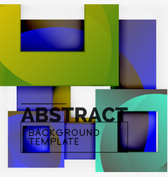 background abstract squares geometric minimal vector image