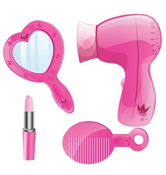 Beauty products vector