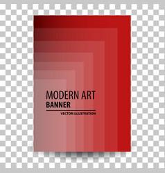 business brochure flyer banner design template vector image