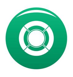 circle graph icon green vector image