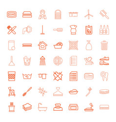 clean icons vector image