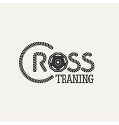 Cross Training logo vector