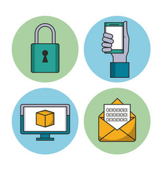 Data encryption security vector