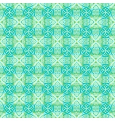 Floral ornamented pattern vector image