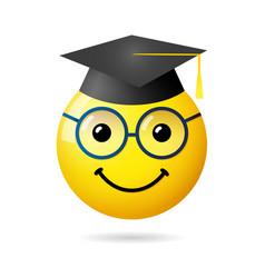 Graduation 3d emotion vector