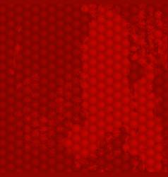 grunge red background vector image