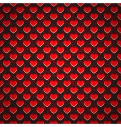 Seamless background perforated plastic sheet in vector