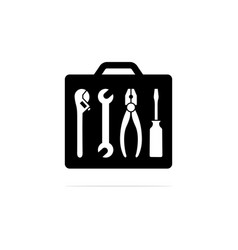 tool bag icon concept for design vector image