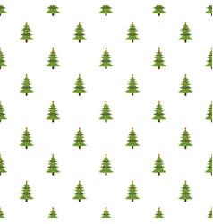 Xmas fir tree pattern seamless vector