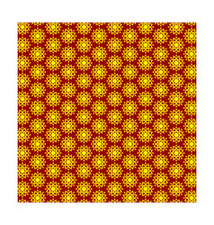 yellow-red abstract background vector image