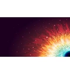 Shining Galaxy Background vector image