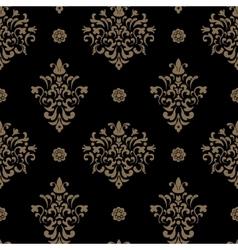 Royal seamless pattern baroque vector image