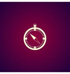 Compass icon - vector image
