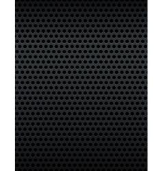 Metal Grid Grate Background vector image
