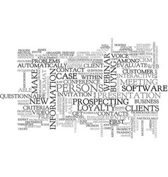 Best practices for ecrm text word cloud concept vector