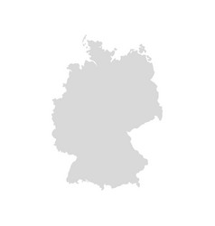 germany map icon europe germany country vector image