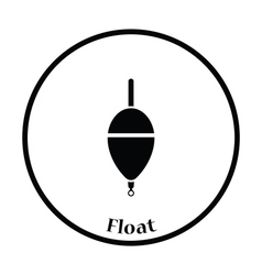 Icon of float vector image