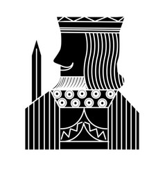 King french playing cards related icon icon image vector