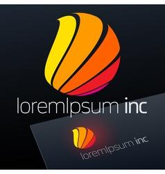 Logotype for Media Fashion Cosmetics vector