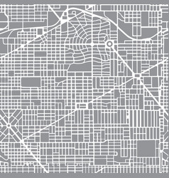 abstract seamless city plan vector image